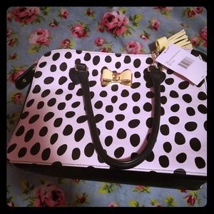 Nwt large betsey Johnson purse